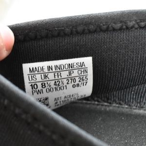 adidas Shoes - Adidas Cloudfoam All black leopard slip on sneaker